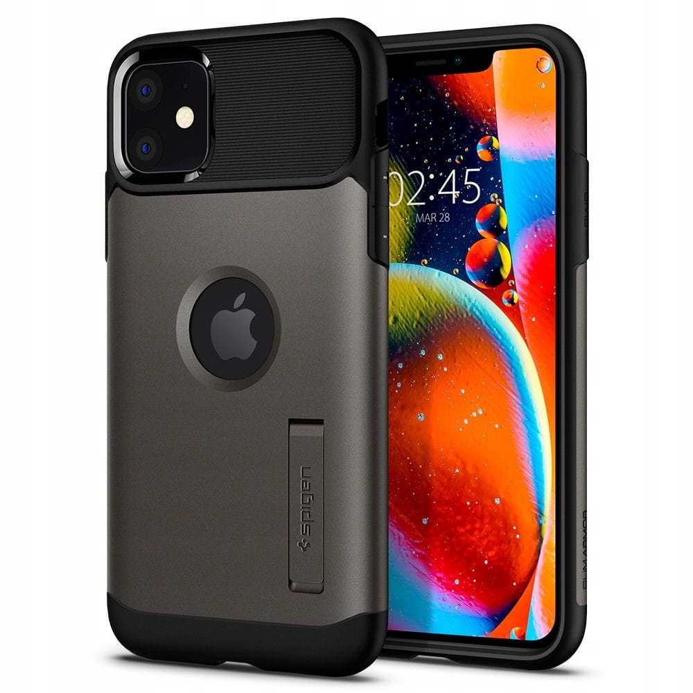 Etui Spigen Slim Armor Apple iPhone 11 Gunmetal