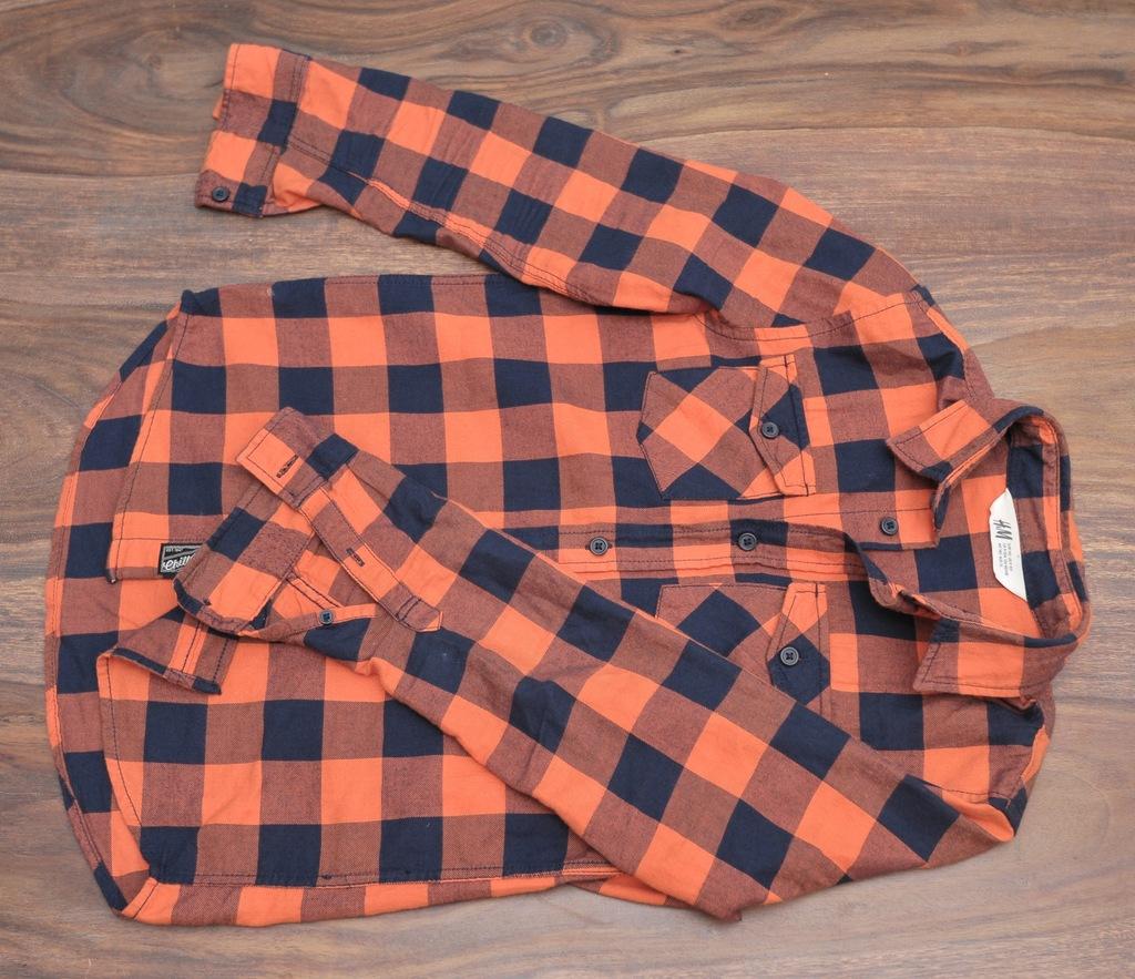 Spodnie dresowe, koszula, dwie koszulki 140cm