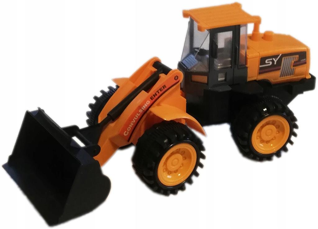 KOPARKA traktor auto budowlane z napędem