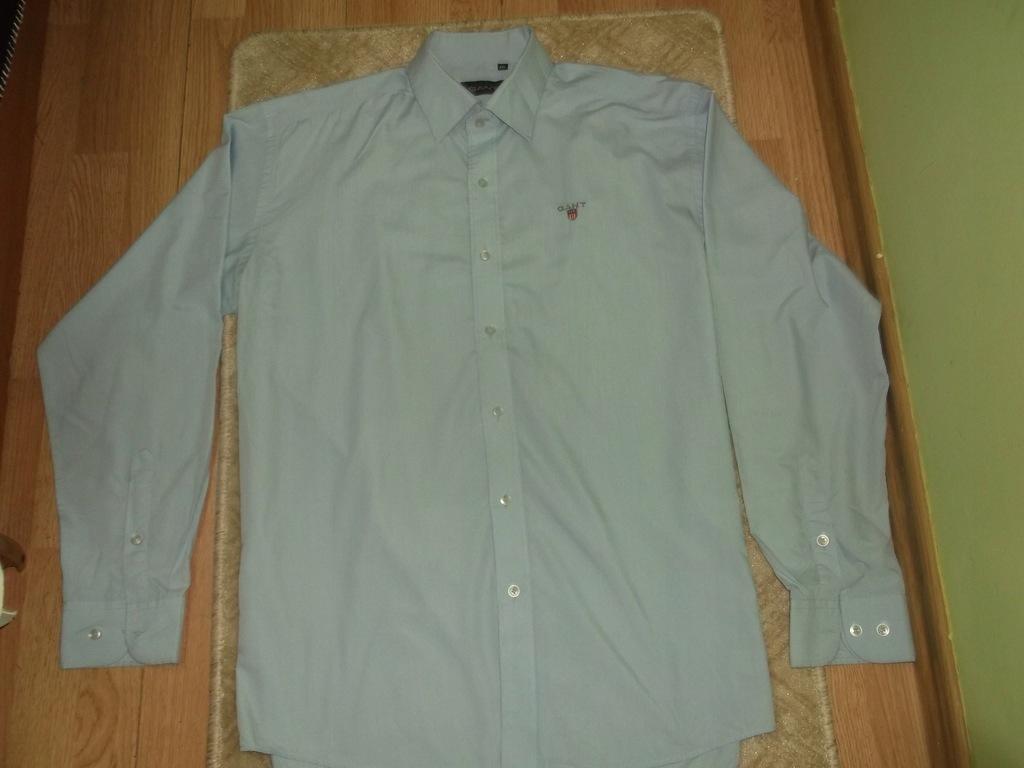 GANT niebieska męska koszula jak NOWA XXL