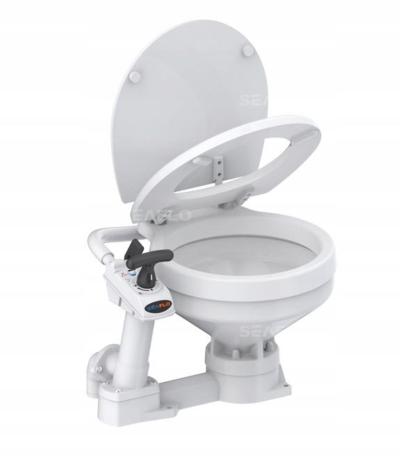 Toaleta z pompką ręczną Seaflo