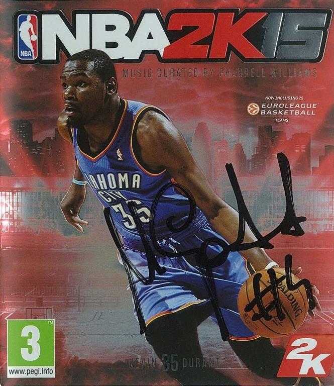 NBA 2K15 z autografem Marcina Gortata!