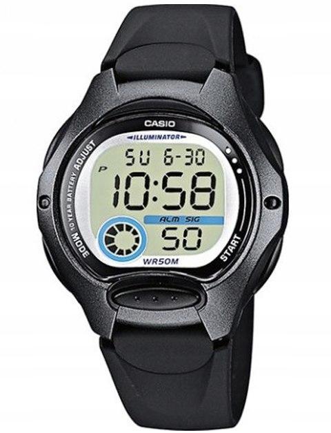 Zegarek CASIO LCD Wielofunkcyjny LW-200 -1BV