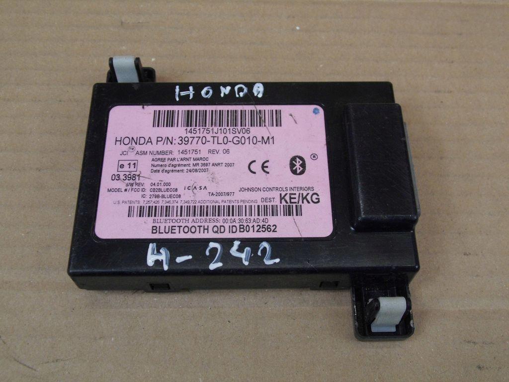 Honda Accord VIII moduł bluetooth 39770-TL0-G010