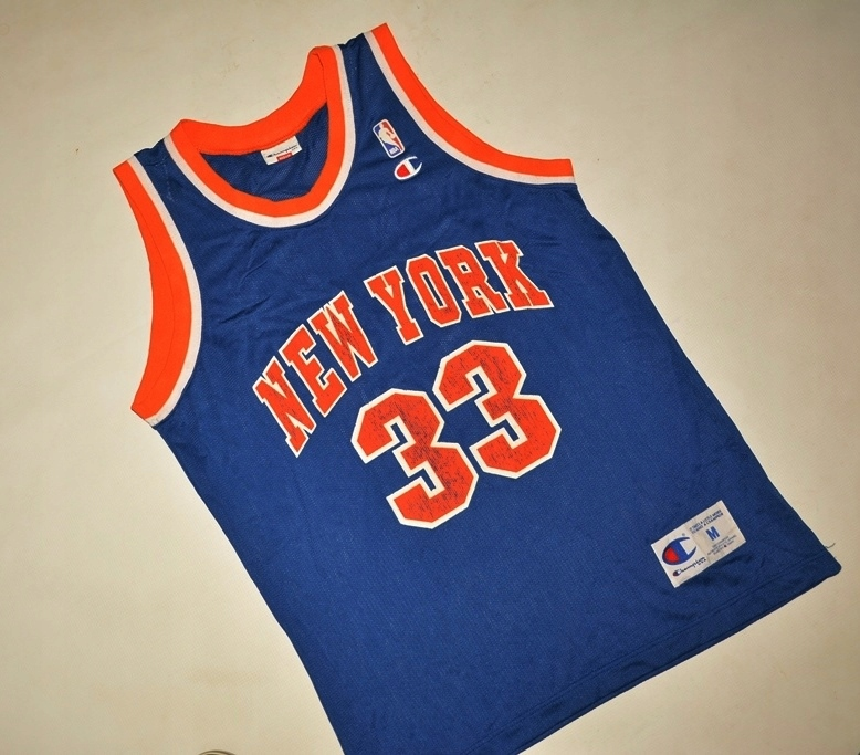 NBA NEW YORK KNICKS EWING 33 CHAMPION M WARTO
