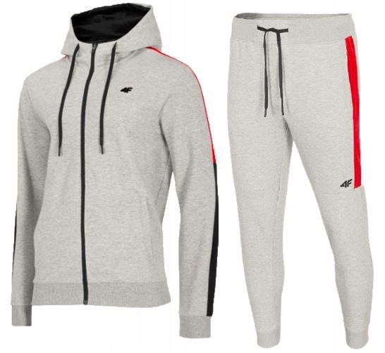 Zestaw męski sportowy 4F bluza spodnie dresowe S