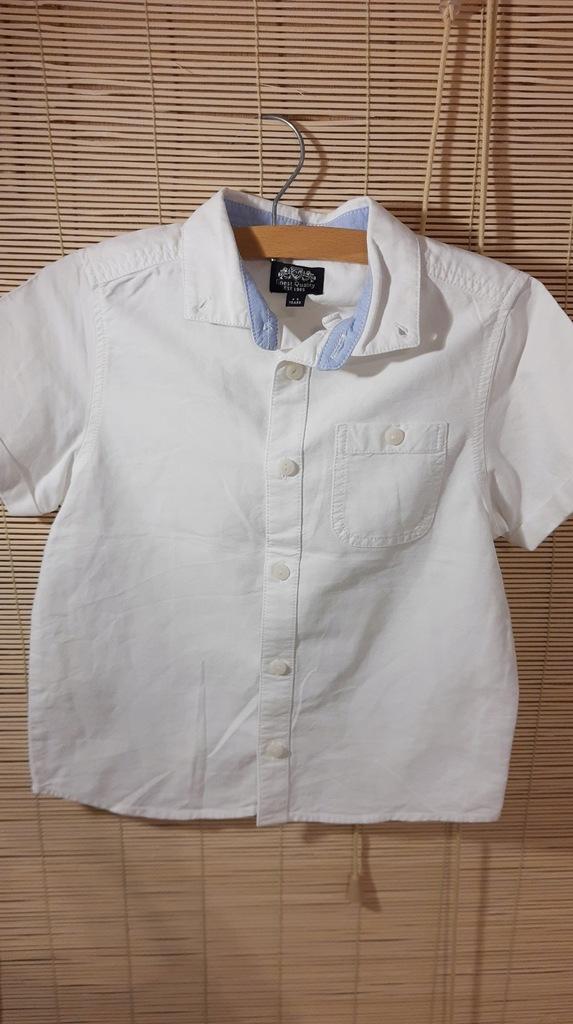 FINEST QUALITY porządna biała koszula 104