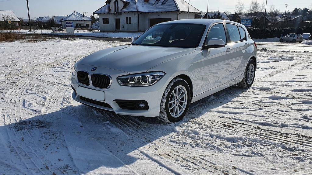 BMW 1 (F20) 118 d xDrive 150 KM 12.2017 F-VAT 23%