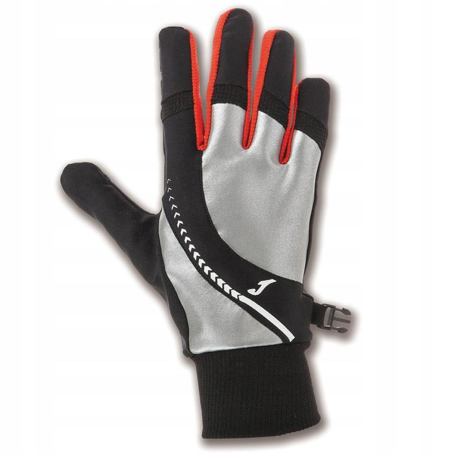 Rękawiczki biegowe Joma rozmiar 11 kolor czarny 40