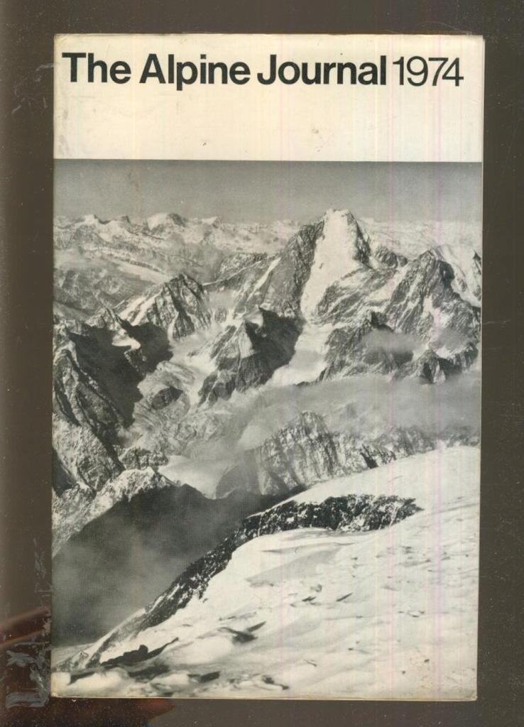 The Alpine Journal; 1974; vol. 79