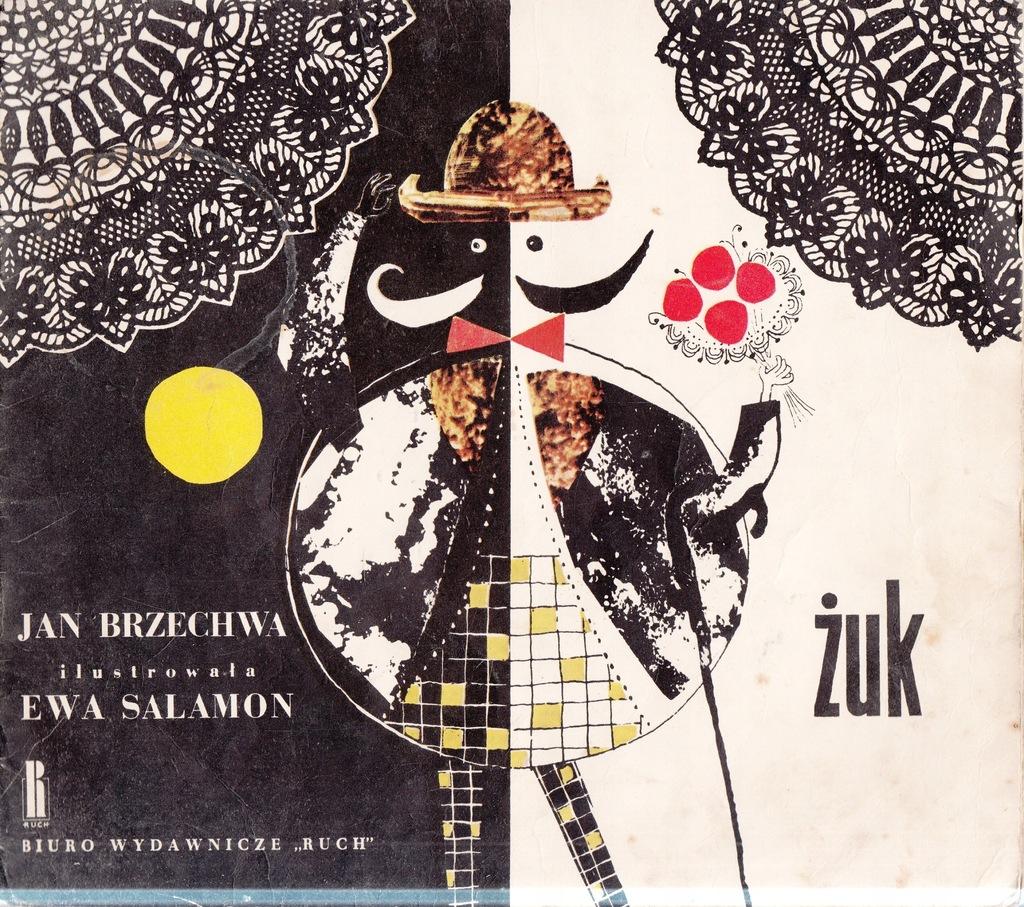 żuk Jan Brzechwa Ilustrowała Salomon 1967r 7544869179