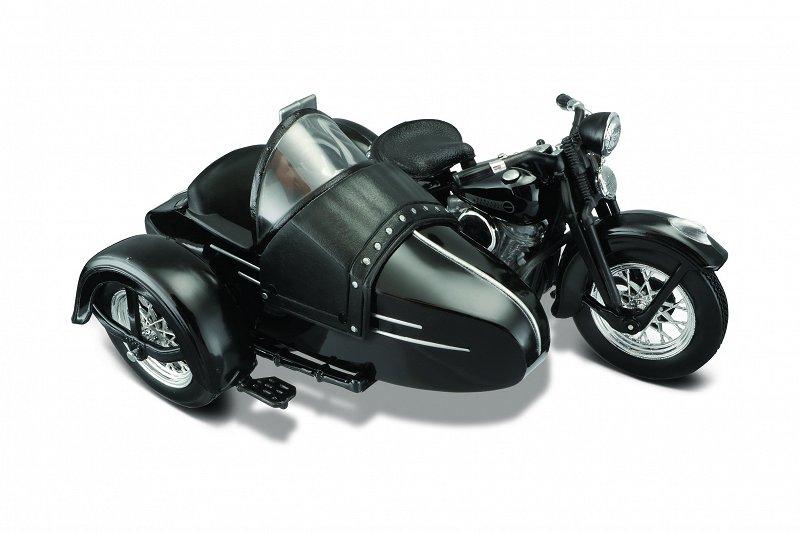 Motocykl Harley Davidson 1948 Fl Z Wozkiem Bocznym 8223084712 Oficjalne Archiwum Allegro
