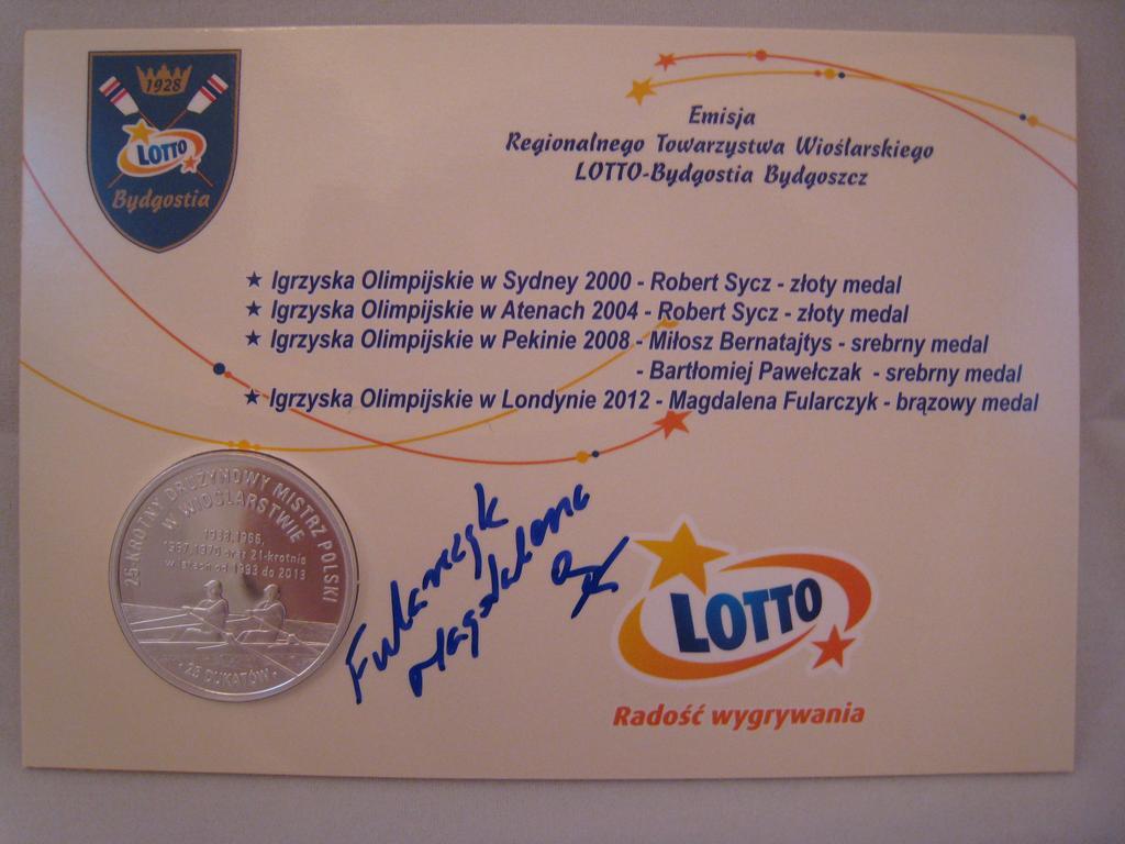 Dukaty z podpisem Magdaleny Fularczyk-Kozłowskiej