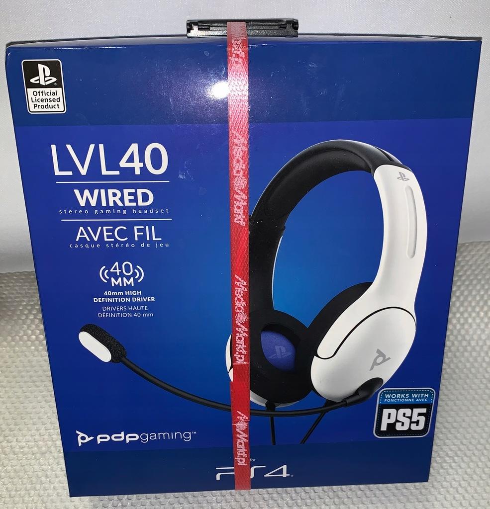 Nowe ! Słuchawki Playstation 5 LVL40