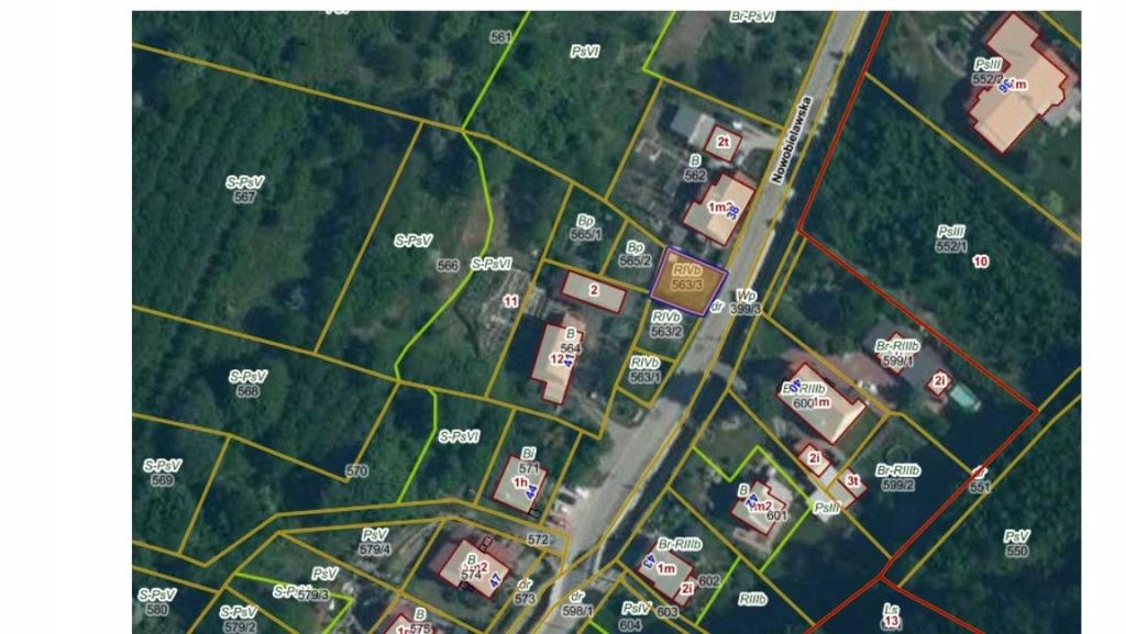 Działka, Bielawa, Dzierżoniowski (pow.), 152 m²