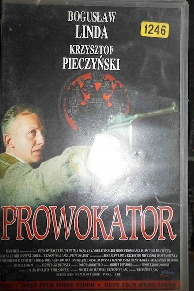 Prowokator - VHS kaseta video