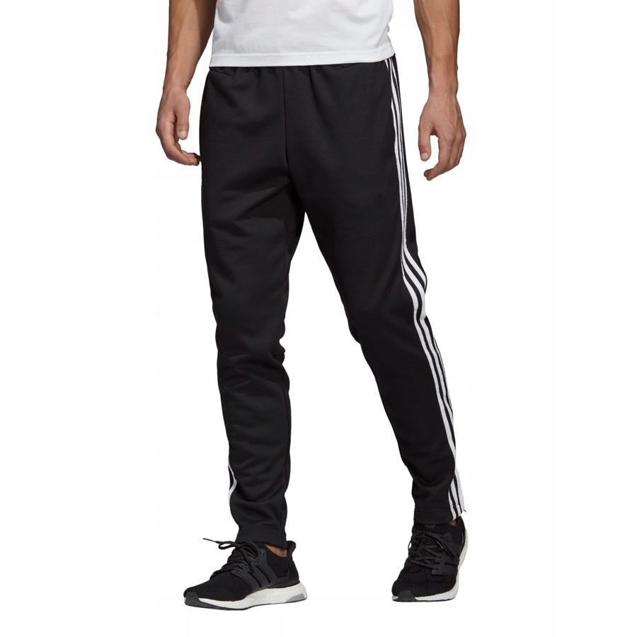 Spodnie adidas Tiro 17 poliester CzarnyBiały