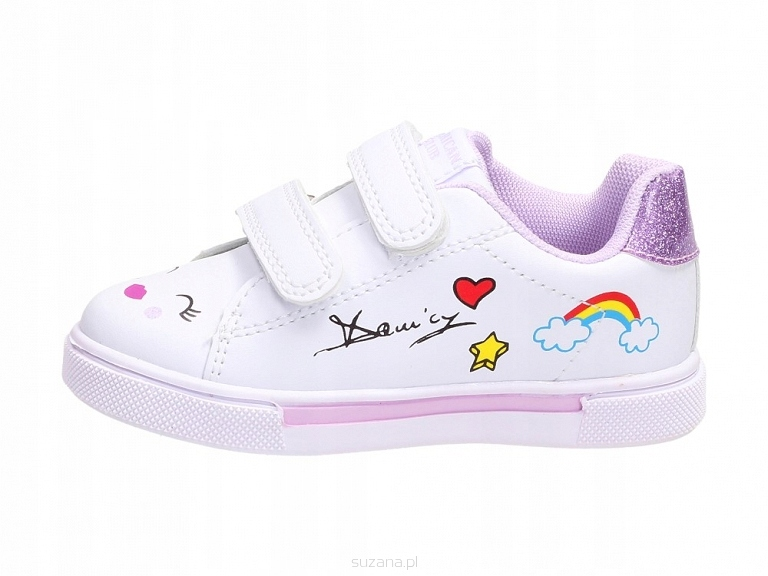Sportowe buty dziecięce AMERICAN ES28/21 WT r24
