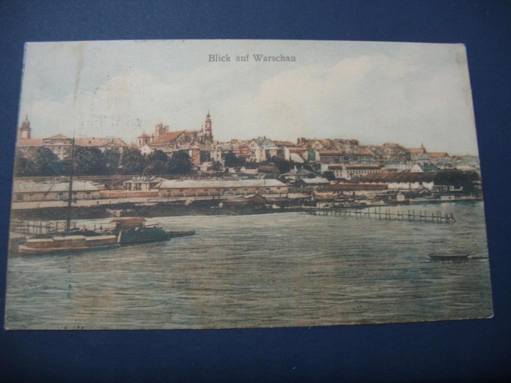 Warszawa 1917 Blick