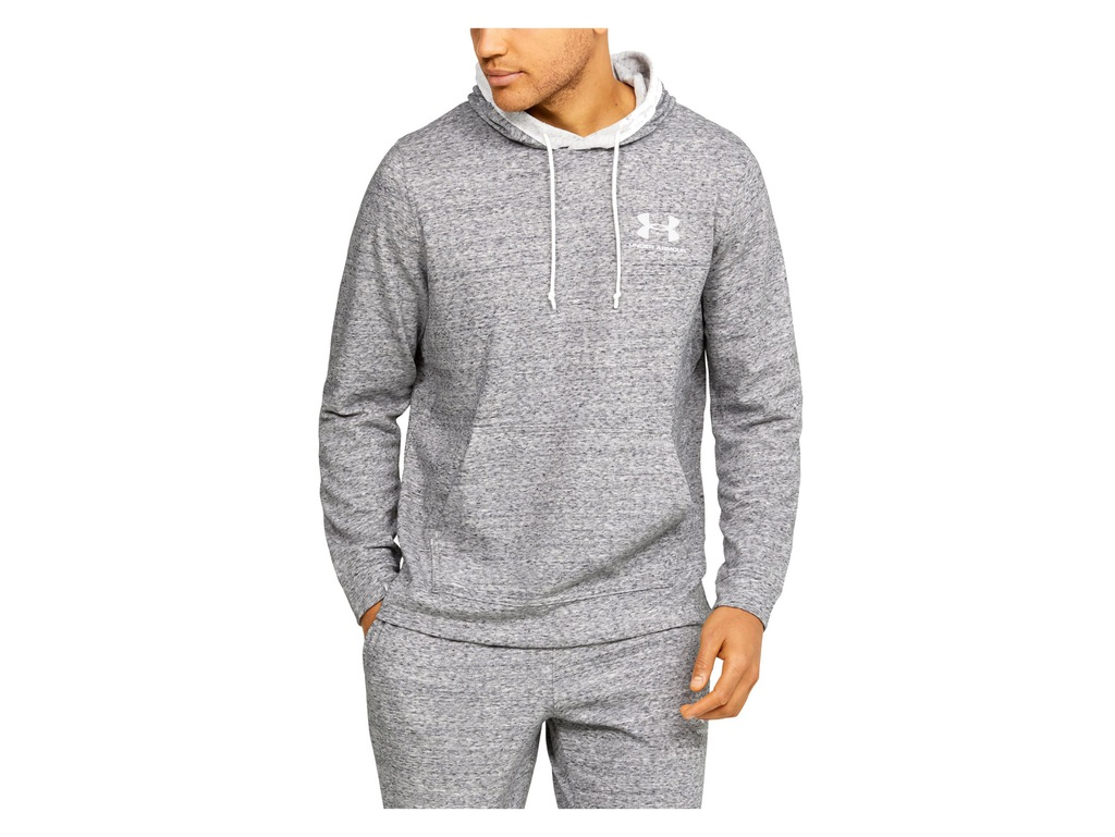 BLUZA UNDER ARMOUR MĘSKA 1329291-112 KAPTUR R. M