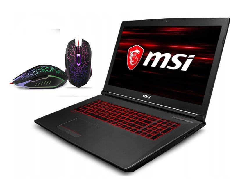 MSI GV62 i7-8750H GTX1060 SSD 256GB 32GB IPS MAT