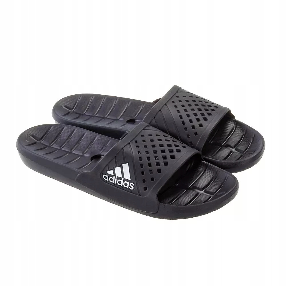 Klapki męskie basen adidas Kyaso S78121 czarne 46
