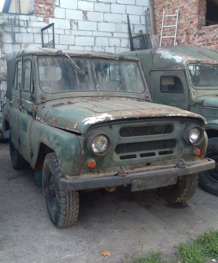UAZ 469 1974r. radiowóz MO