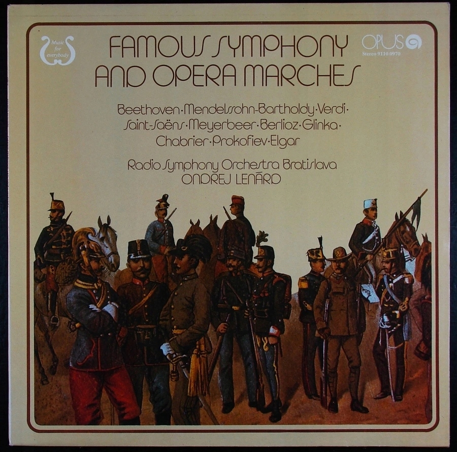 FAMOUS SYMPHONY AND OPERA MARCHES