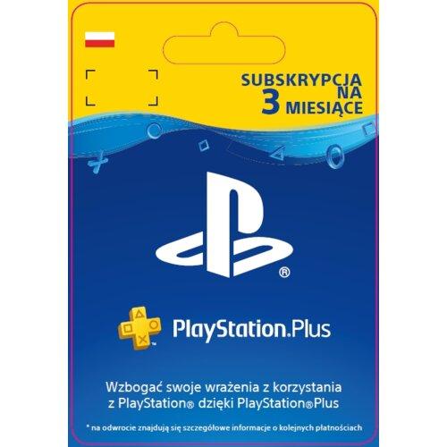 SUBSKRYPCJA Kod PlayStation Plus 3 miesiące PS 4/5