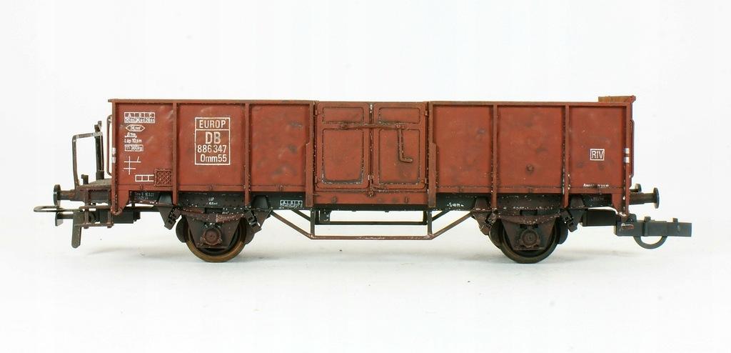 Klein. Wagon z ładunkiem złomu DB III ep.