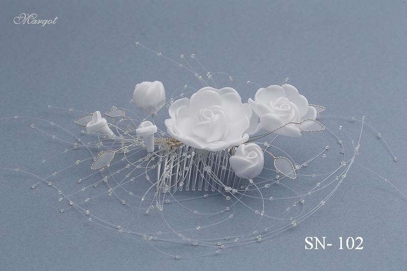 Stroik ślubny SN102 - fryzury ślubnej, głowę