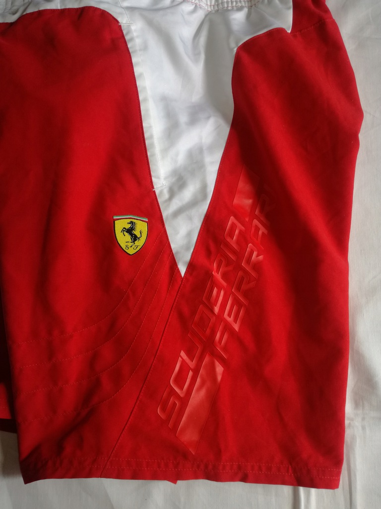 Puma Ferrari spodenki roz m jak nowe
