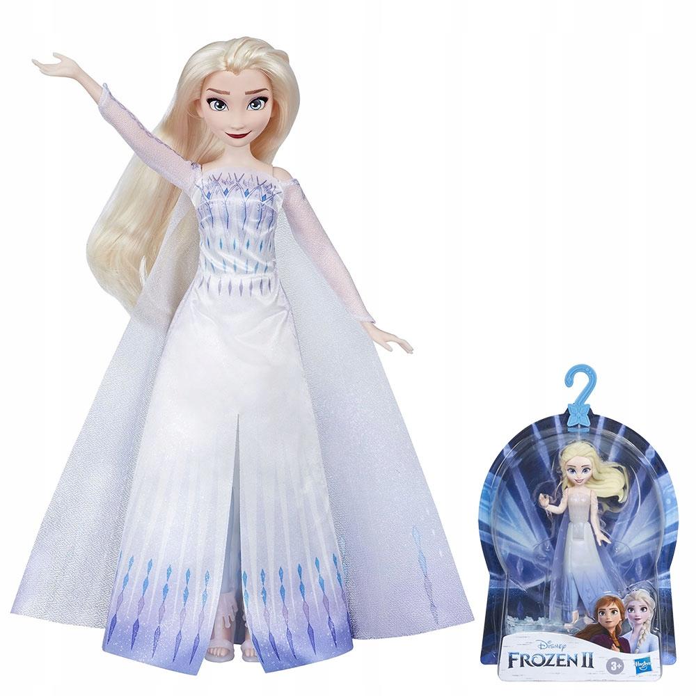 Frozen Kraina Lodu Lalka Elsa Spiewajaca Pl Mini 9345092484 Oficjalne Archiwum Allegro