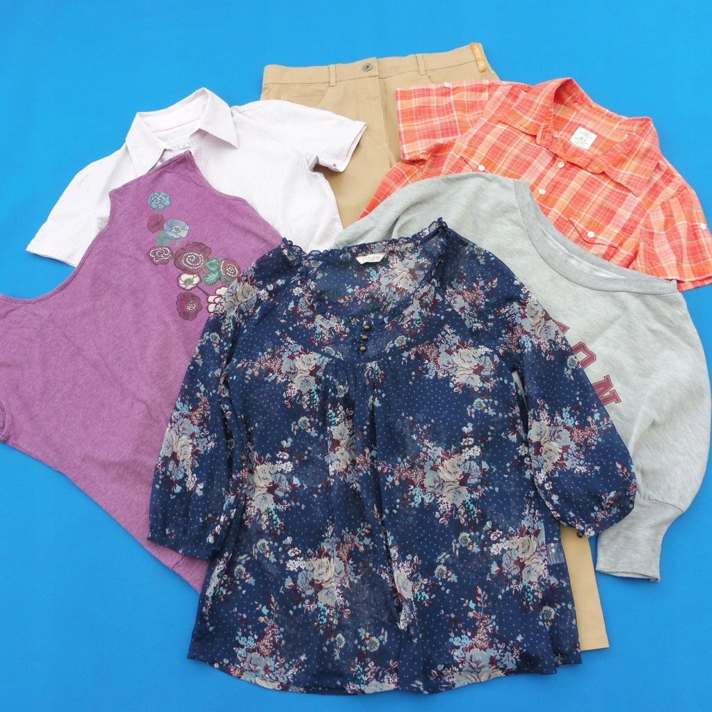 Zestaw H&M TATUUM sOliver spodnie bluzki 38 40