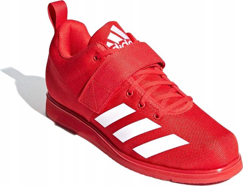 Adidas Buty m?skie Powerlift 4 czerwone r. 40 (BC0