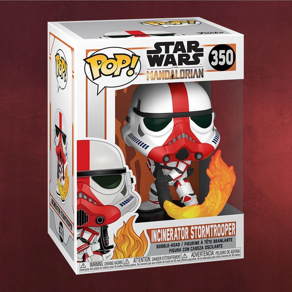 Incinerator Stormtrooper Funko Pop Gwiezdne Wojny
