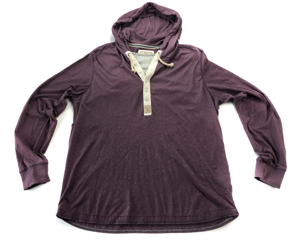 5724 NEXT fioletowa bluza z kapturem oldschool XXL
