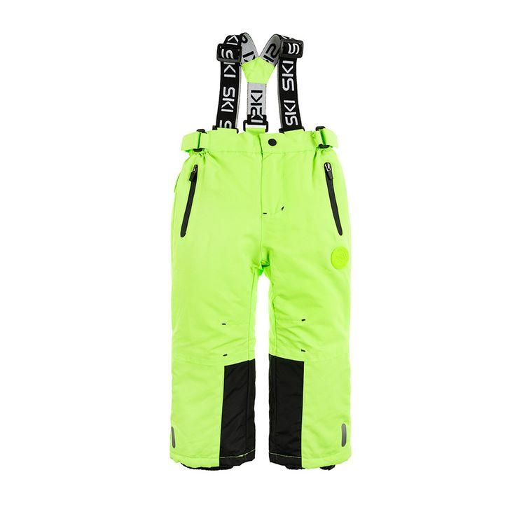 Cool Club Spodnie Narciarskie 128 Neonowe Zielone 8921116036 Oficjalne Archiwum Allegro