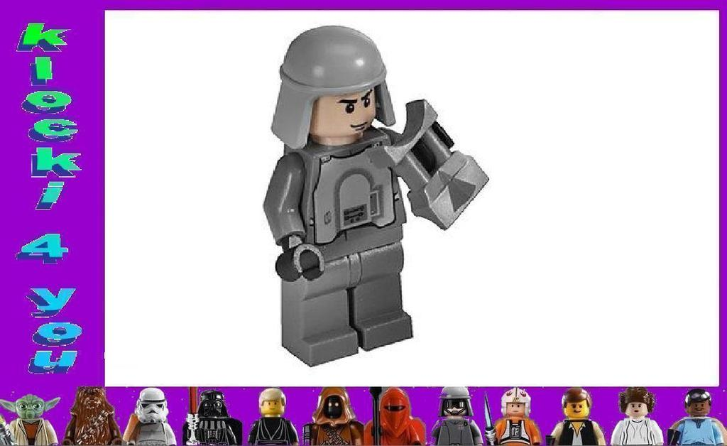 LEGO STAR WARS - HOTH TROOPER + LORNETKA