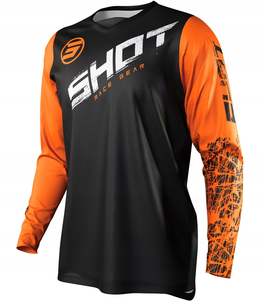 Bluza cross SHOT RACING DEVO SLAM ORANGE KTM XL