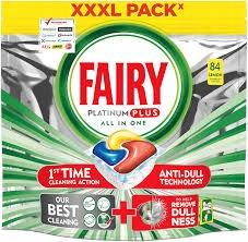 Fairy Platinum Plus All In One 84 kapsułki