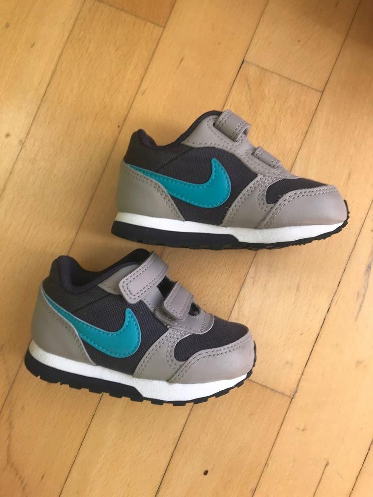 Nike MD Runner 2 roz 21 fiolet beż szary