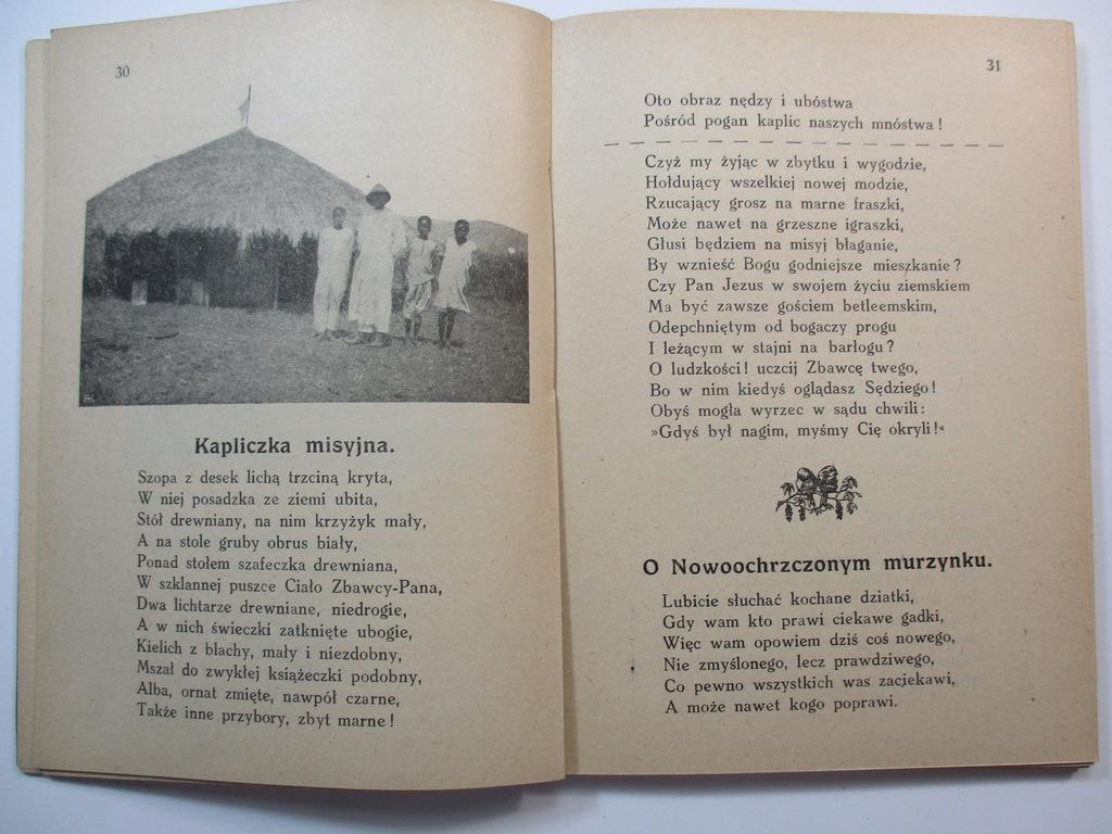 Wiersze Misyjne Ks Mateusza Jeża 1926 Mateusz Jeż