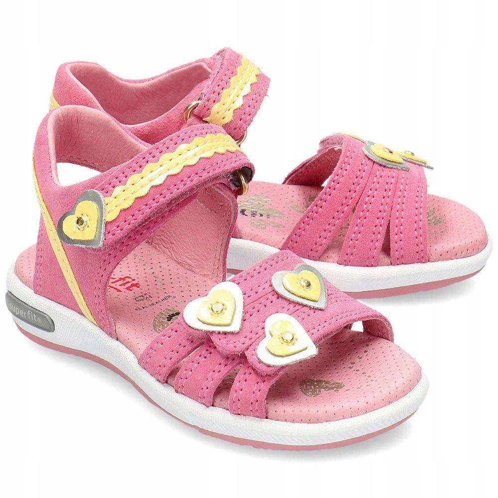 Superfit Różowe Sandały Dziecięce 6-06133-55 R.29