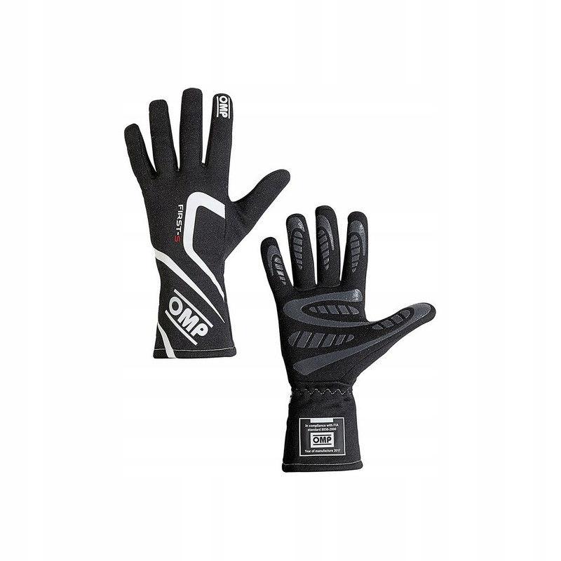Męskie rękawice do jazdy OMP First-S Czarny