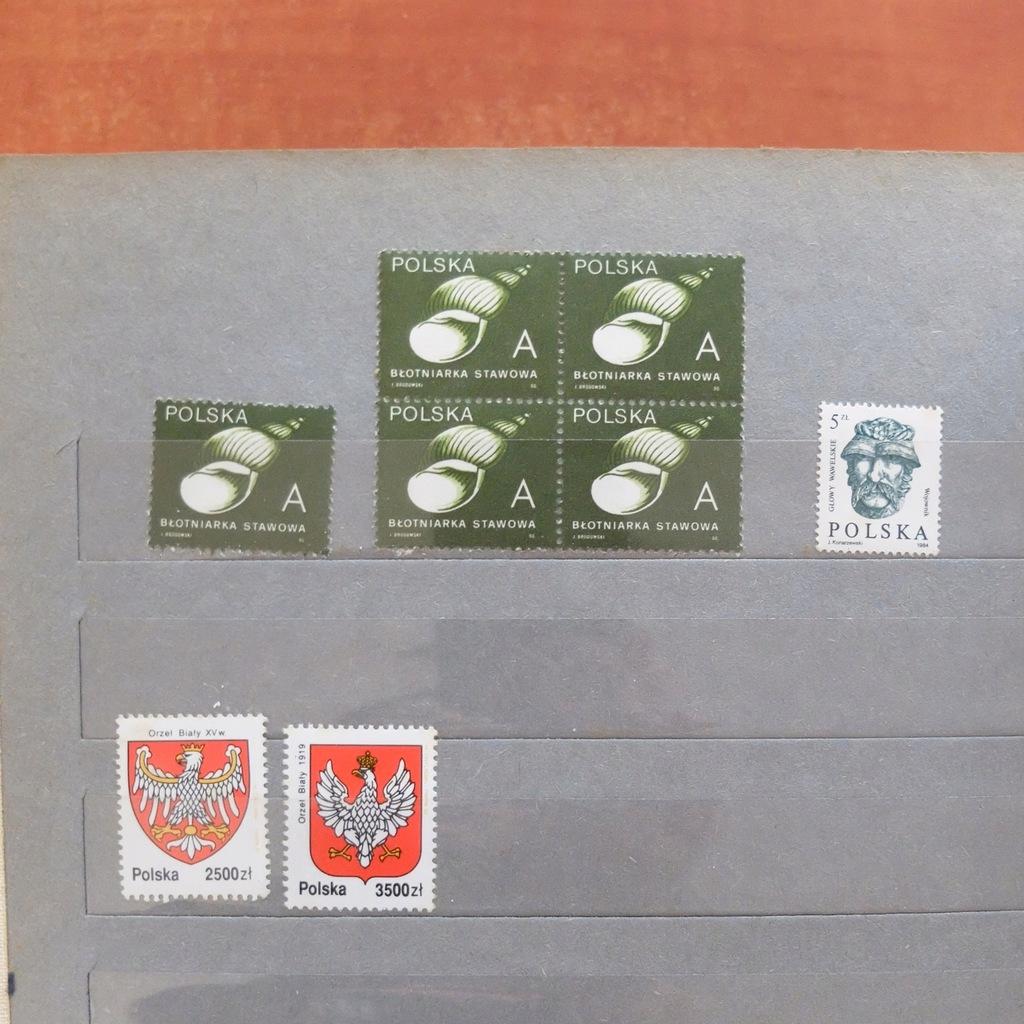 Zestaw Znaczków Solidarność BCM(629B)(RZ)