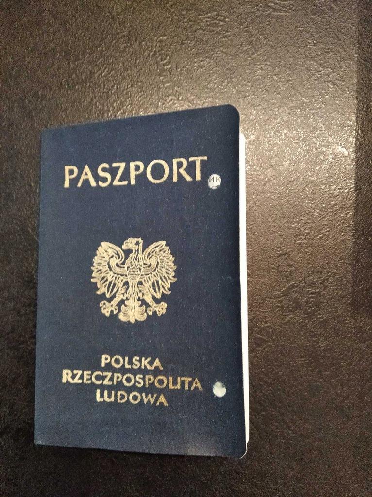 Paszport PRL