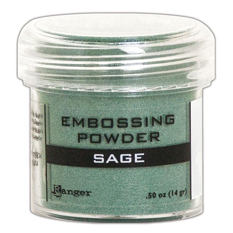 Metaliczny puder do embossingu - Sage - Ranger