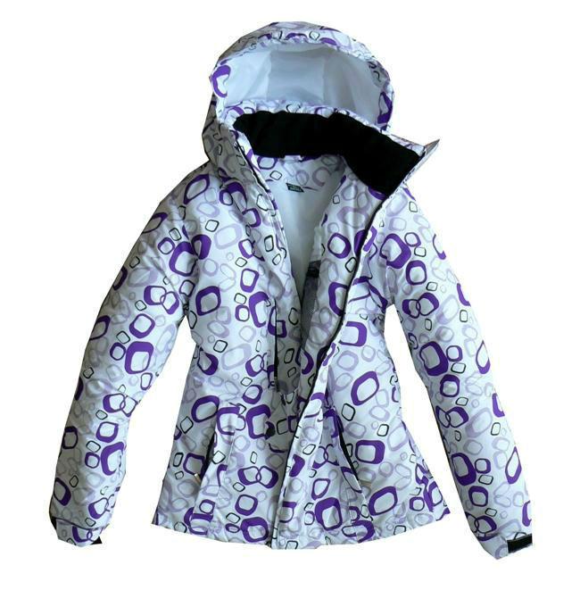Ciepła kurtka zimowa damska sportowa biała _ S