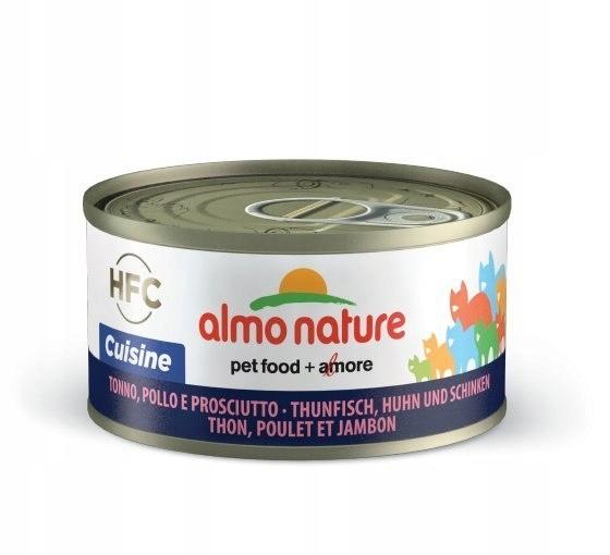 ALMO NATURE HFC Cuisine - tuńczyk, kurczak i szynk